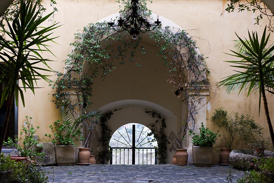 Palazzo Amaduri, ingresso