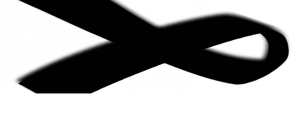 Lutto simbolo evidenza condoglianze mort