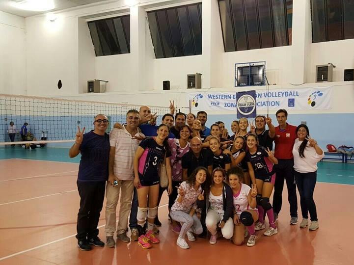 Sensation Profumeria Gioiosa - foto post vittoria contro Volley Piana