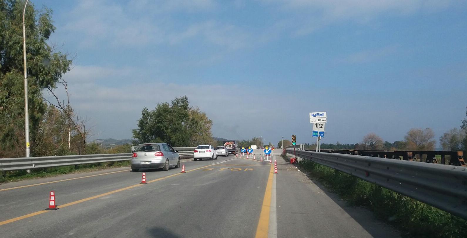 statale 106 ponte allaro