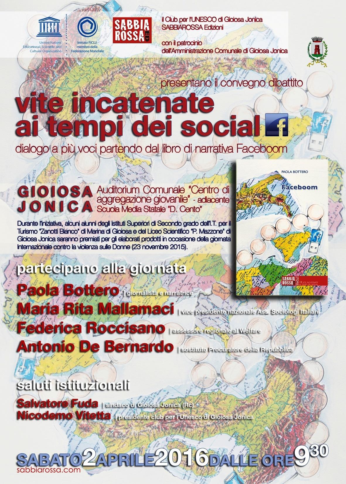 Faceboom locandina Gioiosa