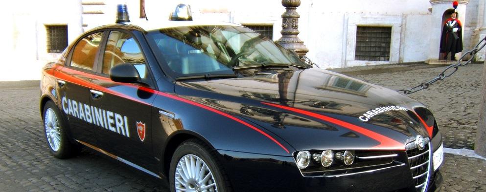 Alfa-Romeo159-Carabinieri-di-Roma evidenza