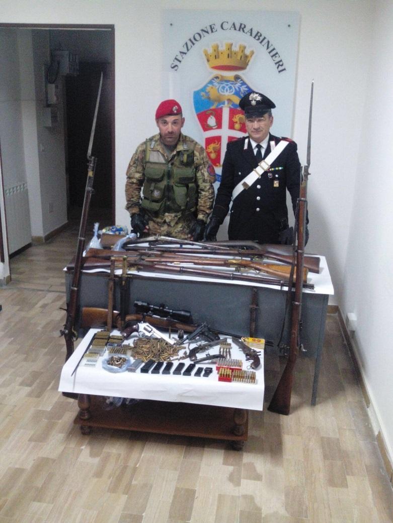 carabinieri caulonia armi