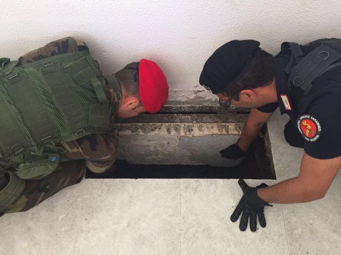 Rinvenimento bunker a San Ferdinando