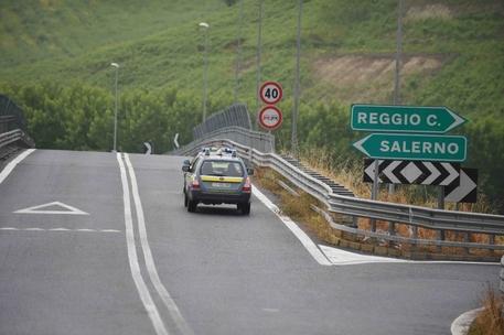 Sequestrato tratto autostrada A3
