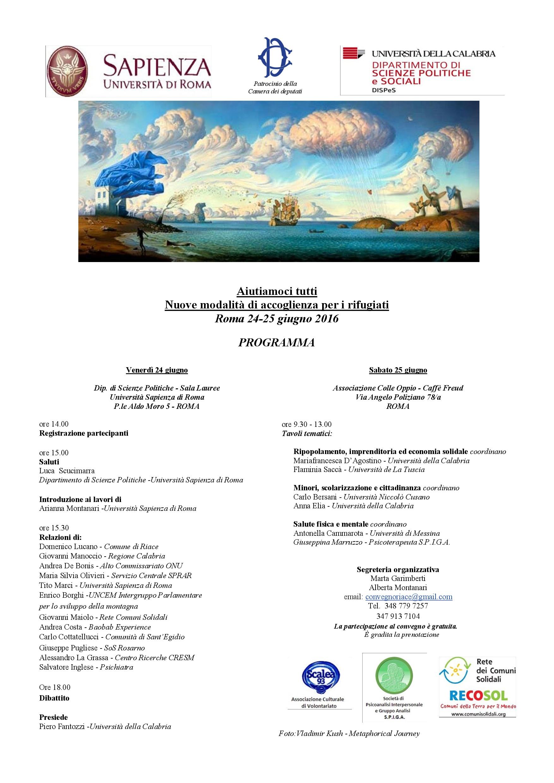 locandina convegno roma 24 giugno