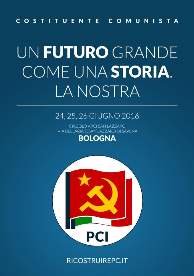 simbolo PCI partito comunista italiano