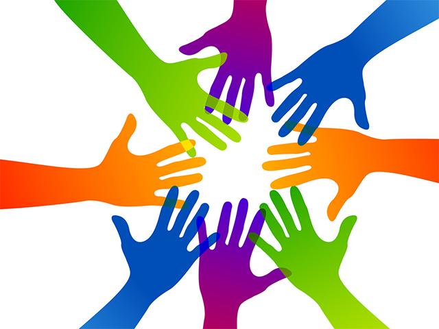 community colori festa volontariato siderno