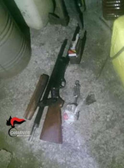 Un arresto dei Carabinieri a Cittanova per droga e armi