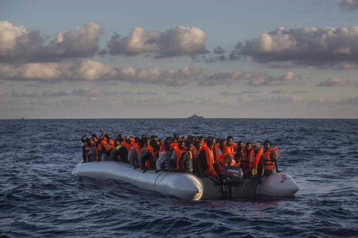 APTOPIX Libya Migrants migranti immigrati sbarco vibo valentia scafisti