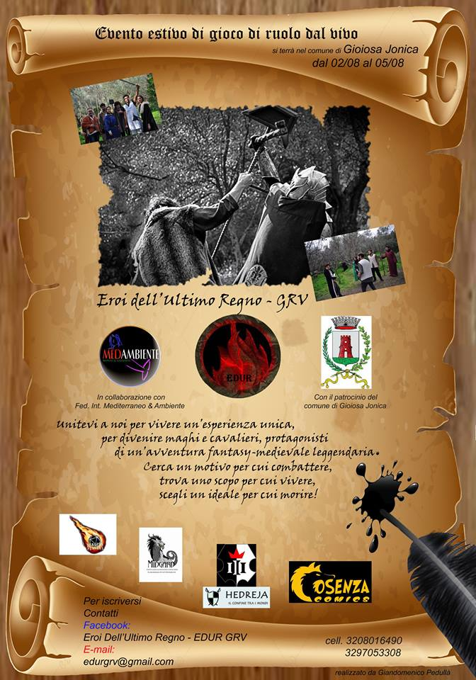 manifesto edur EDUR GRV Associazione Sportiva Dilettantistica gioiosa