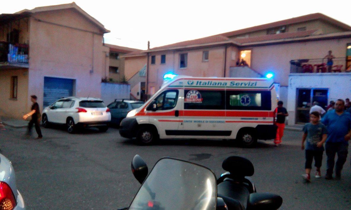 ambulanza incidente bici caulonia