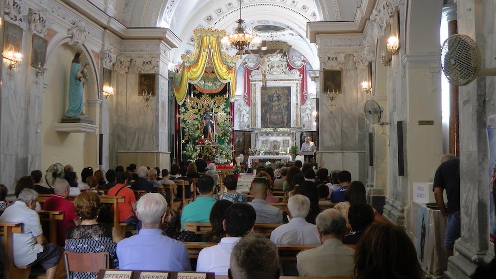 chiesa san rocco messa