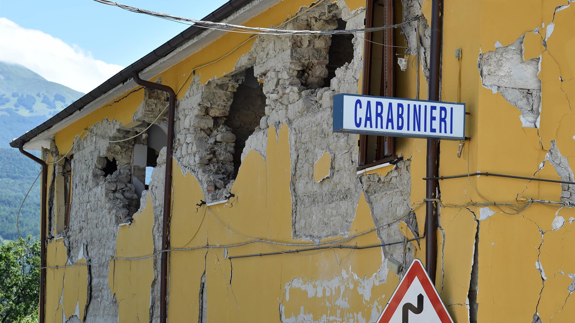 carabinieri terremoto