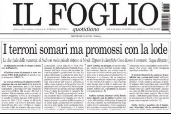 IlFoglio - la prima pagina del 15 agosto 2016