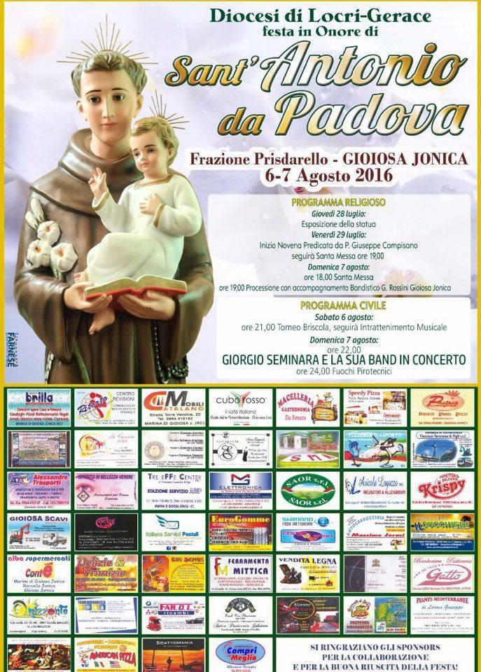 locandina festa s antonio prisdarello 2016 13942295_500394130154407_714965408_n