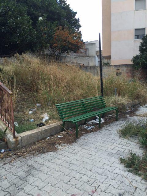 PCI relativo all'abbandono di Piazza Fontana e del Parco pubblico di Ravagnese.