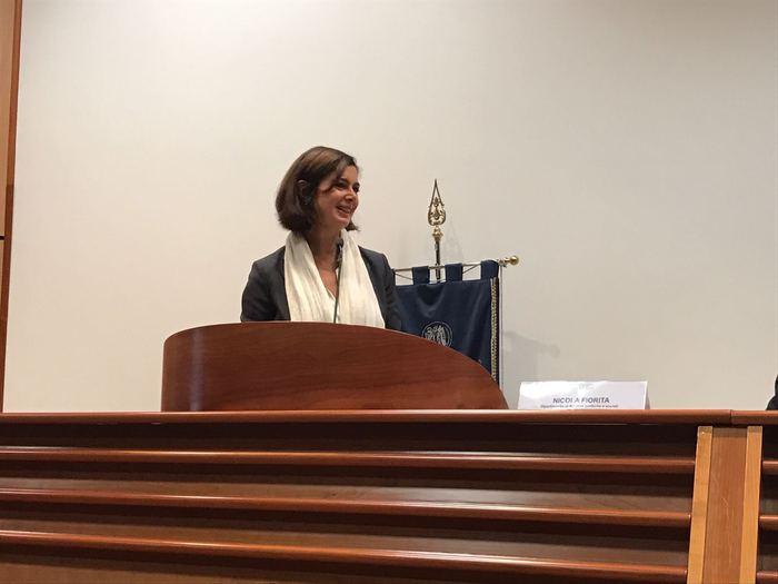Presidente Camera Laura Boldrini all'Unical