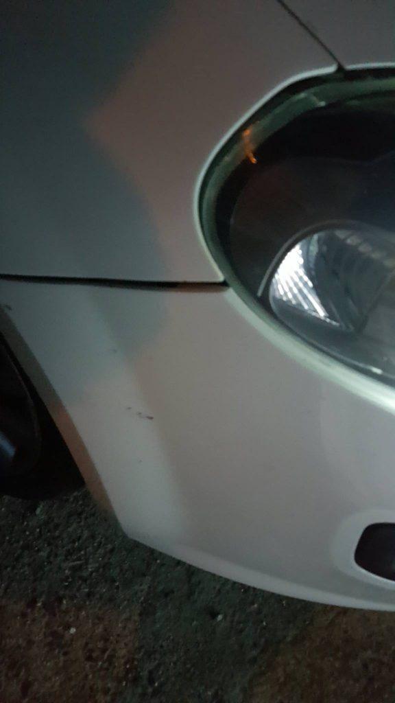 auto tombino aperto caulonia