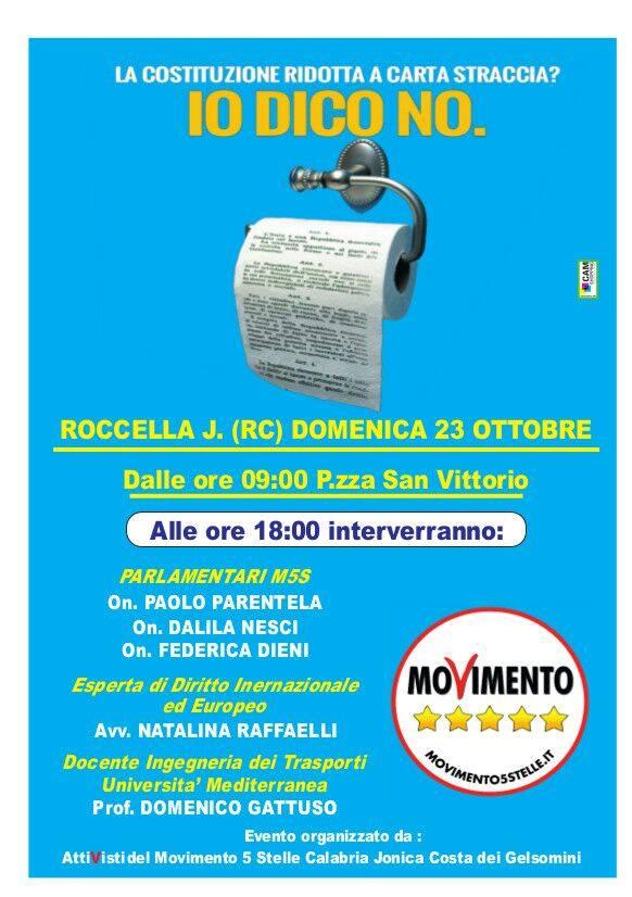 m5s roccella referendum