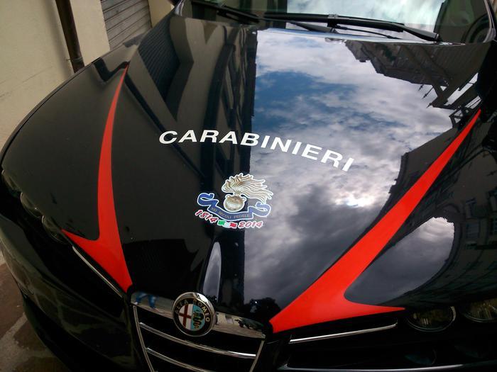 Carabinieri: a Potenza logo 200 anni fondazione