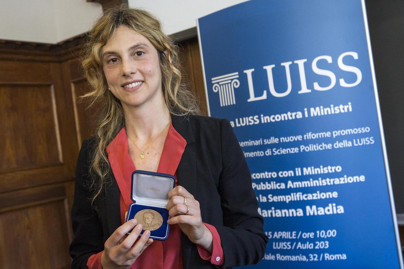 Università Luiss - Incontro con il ministro Marianna Madia