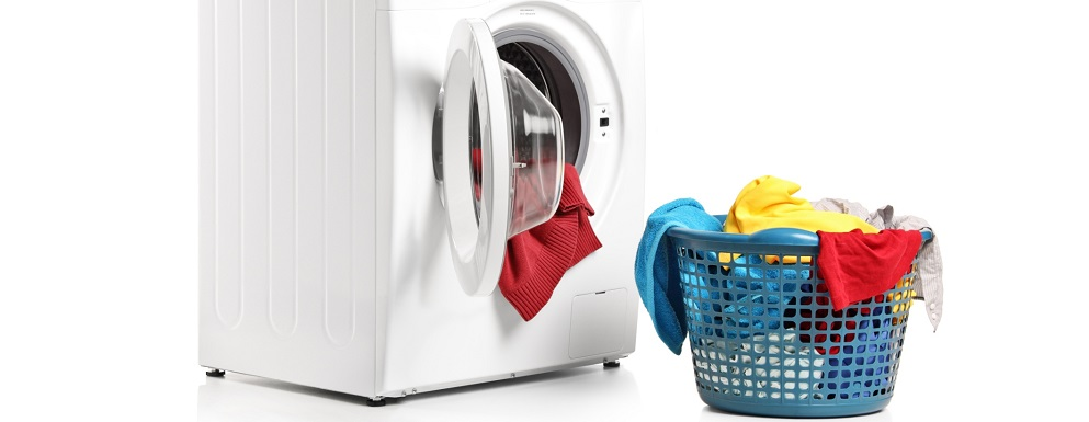 Washing machine and full laundry bin