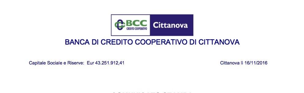 Banca di Credito Cooperativo di Cittanova ev