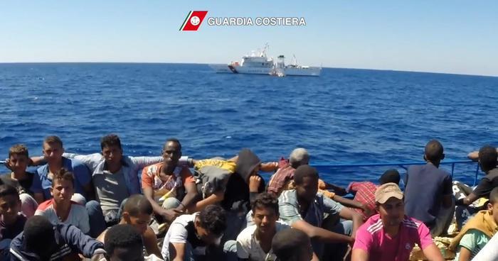 Guardia costiera operazione Frontex