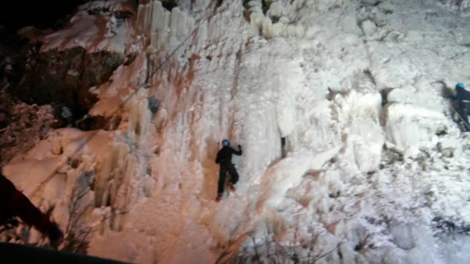 arrampicata circolo polare artico