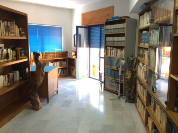biblioteca mario pellicano castagna gioiosa