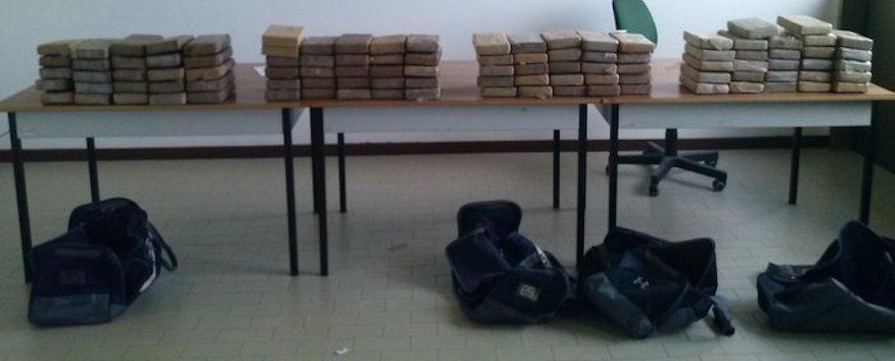Sequestro droga nel porto di Gioia Tauro