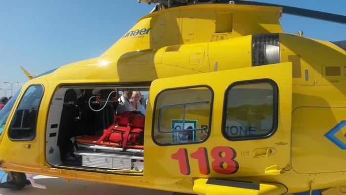 Eliambulanza Perugia elicottero ambulanza  118