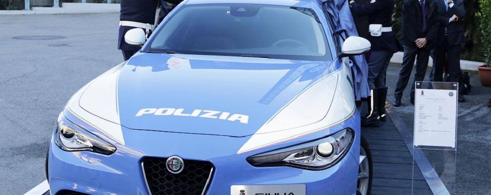 polizia ev auto nuove