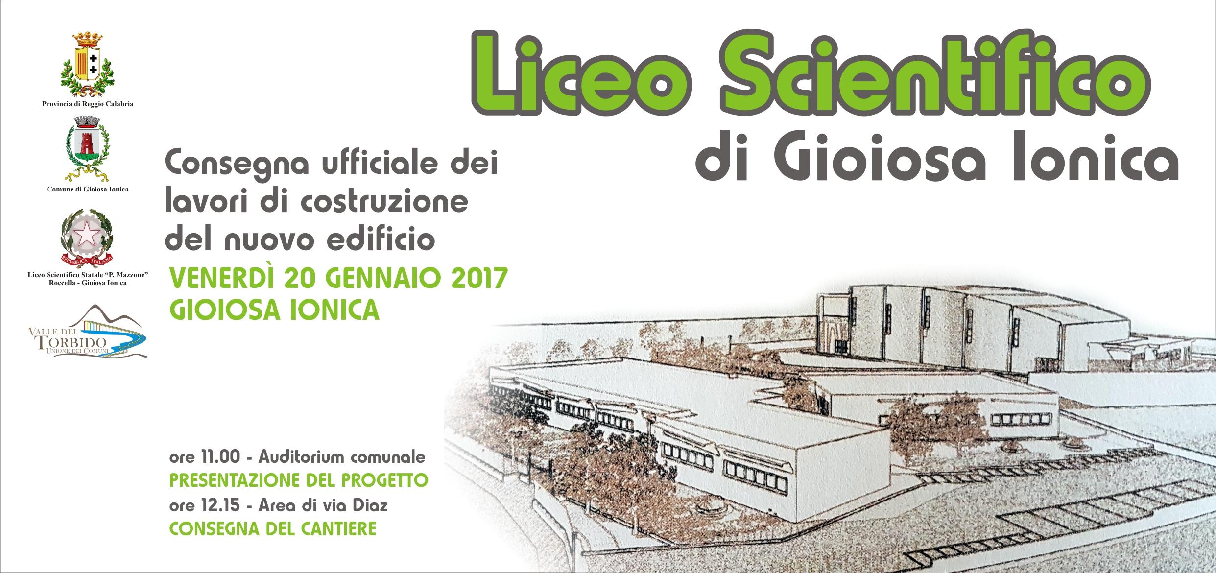 Locandina consegna lavori Liceo