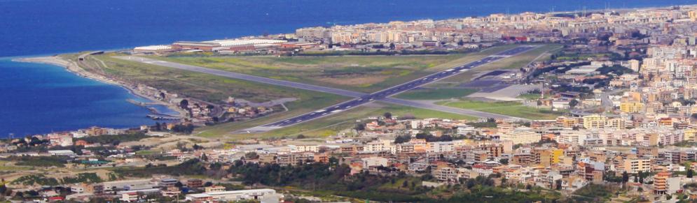 pista aeroporto Reggio Calabria - Ph. wikimedia