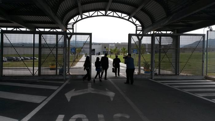 Il carcere Arghillà di Reggio Calabria - Ph. ANSA